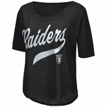 Raiders Touch By Alyssa Milano Double Play Tee