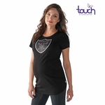 Raiders Touch by Alyssa Milano Maternity Tee