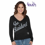 Raiders Touch By Alyssa Milano MVP Sweater