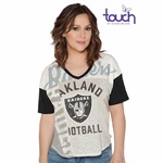 Raiders Touch By Alyssa Milano Power Play Tee