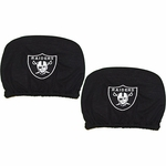 Raiders Two Pack Auto Head Rest Covers