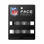 Raiders Two Pack Face Paint Set