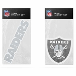 Raiders Two Pack Magnet Set