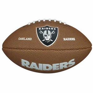 Raiders Wilson Mini Soft Touch Football - Click to enlarge