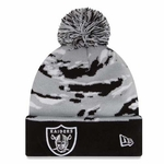 Raiders New Era Winter Safari Knit