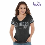 Raiders Touch By Alyssa Milano Plus Size MVP Tee