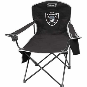 Raiders XL Cooler Quad Chair - Click to enlarge