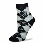 Raiders Youth Argyle Soft Socks