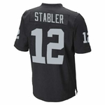 Raiders Youth Ken Stabler Limited Black Jersey