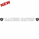 Raider Nation Window Strip Decal