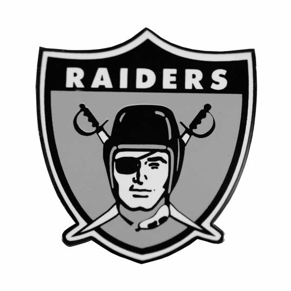 Raiders 1963 logo lapel pin for Oakland raiders logo coloring page