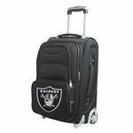 Raiders 21 Inch Carry On Rolling Suitcase