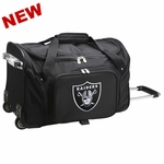Raiders 21 Inch Rolling Duffle Bag