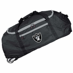 Raiders 36 Inch Collapsible Rolling Duffle Bag