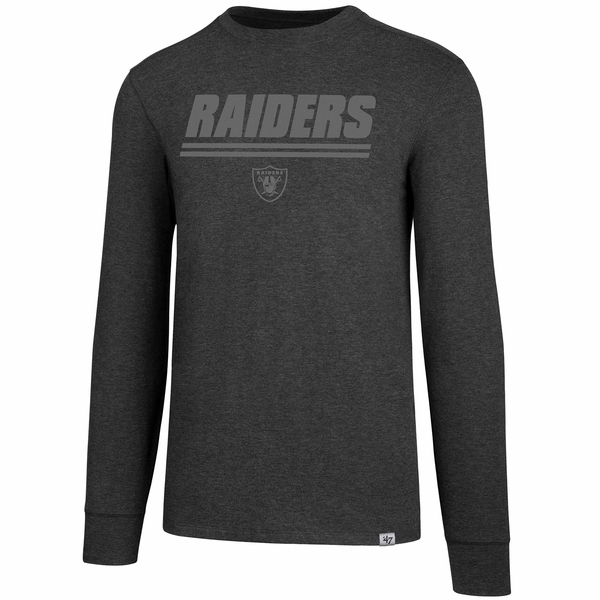 Raiders '47 Brand Forward Gravity Long Sleeve Tee
