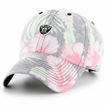 Raiders '47 Brand Stigma Floral Print Clean Up Cap