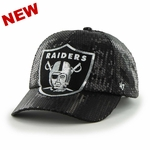 Raiders '47 Brand Women's Dazzle Clean Up Cap