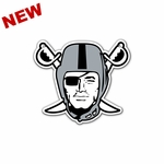 Raiders 8 Inch Pirate Magnet