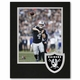 Raiders 8 x 10 Logo Framed Carr Photo