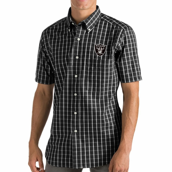 Raiders Antigua Endorse Woven Shirt
