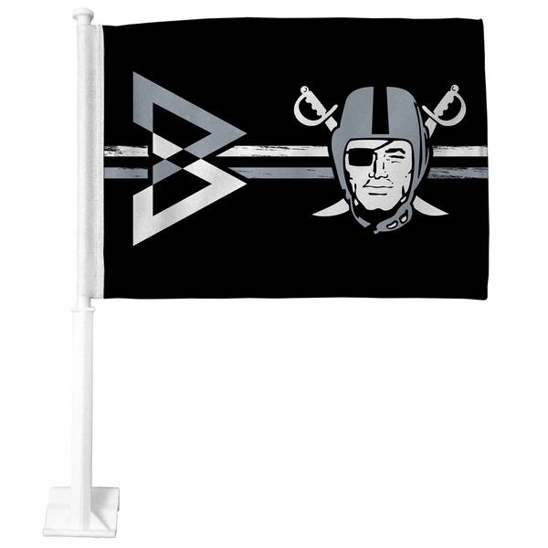 Raiders Beastmode Pirate Car Flag