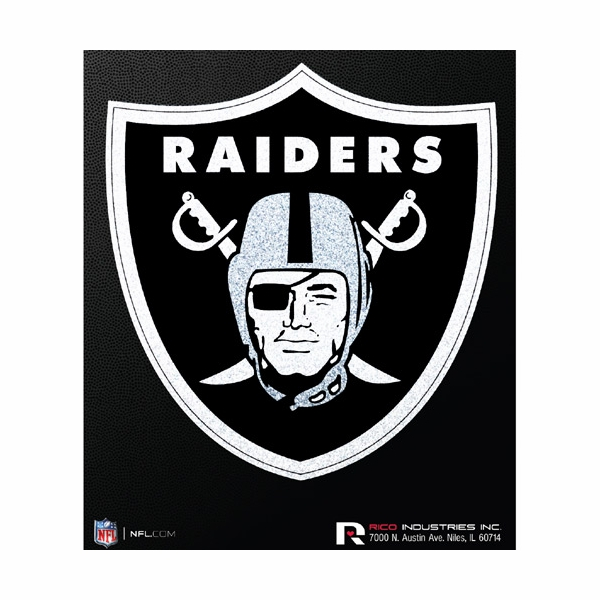 Raiders bling die cut vinyl decal