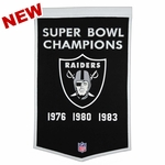 Raiders Champs Dynasty Banner