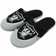 Raiders Color Block Youth Slippers