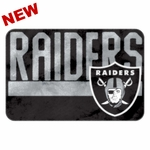 Raiders Color Memory Foam Mat