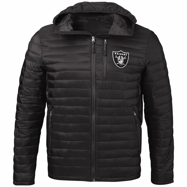 Raiders Equator Quilted Jacket
