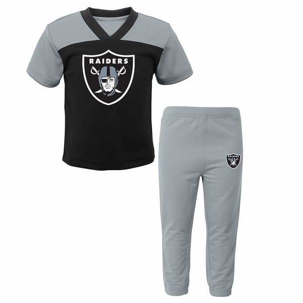Raiders Field Goal Toddler Pant Set