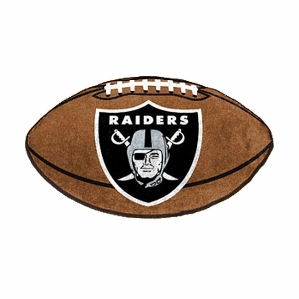 Raiders Football House Mat