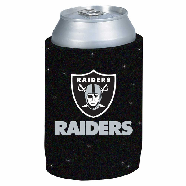 Raiders Glitter Can Coolie