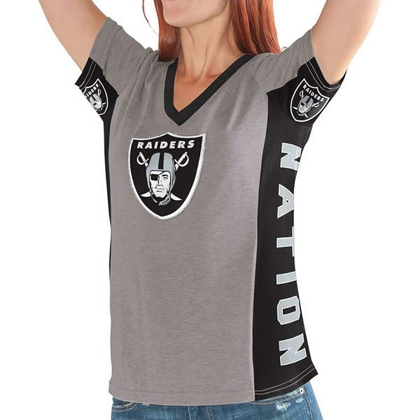 Raiders Hands High #1 Fan Short Sleeve Tee