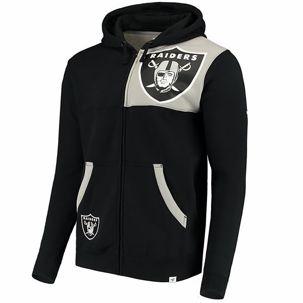 Raiders Iconic Bold Full Zip Hood