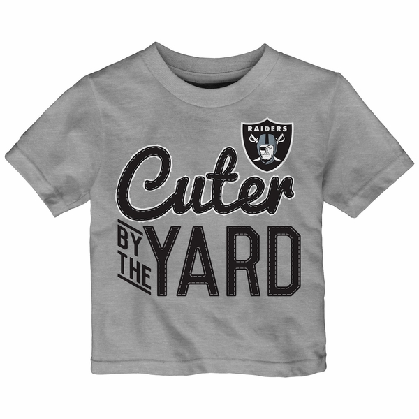 Raiders Infant Cuter By the Yard Tee