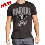 Raiders Kickoff Crew Black Tee