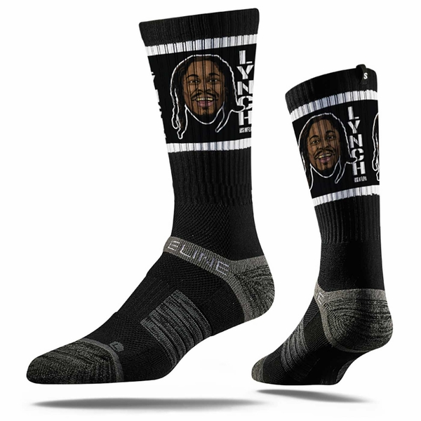 Raiders Lynch Face Socks