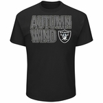Raiders Majestic Autumn Wind IV Tee