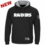 Raiders Majestic Champ Hood