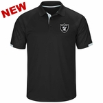 Raiders Majestic Club Seat Polo