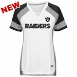 Raiders Majestic Draft Me White Tee