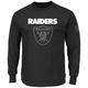 Raiders Majestic Elite Reflective Long Sleeve Tee