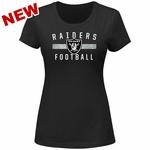 Raiders Majestic Franchise Fit Tee