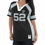 Raiders Majestic Khalil Mack Draft Him Tee