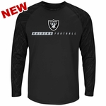 Raiders Majestic League Rival Long Sleeve Tee