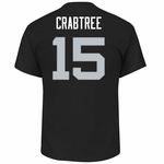 Raiders Majestic Michael Crabtree Eligible Receiver Tee