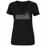 Raiders Majestic Mom Tee