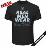Raiders Majestic Real Men IV Tee