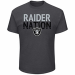 Raiders Majestic Safety Blitz Tee